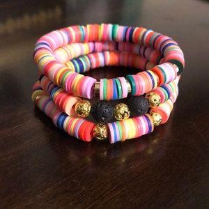 Jewelry - Heishi Bracelet Set
